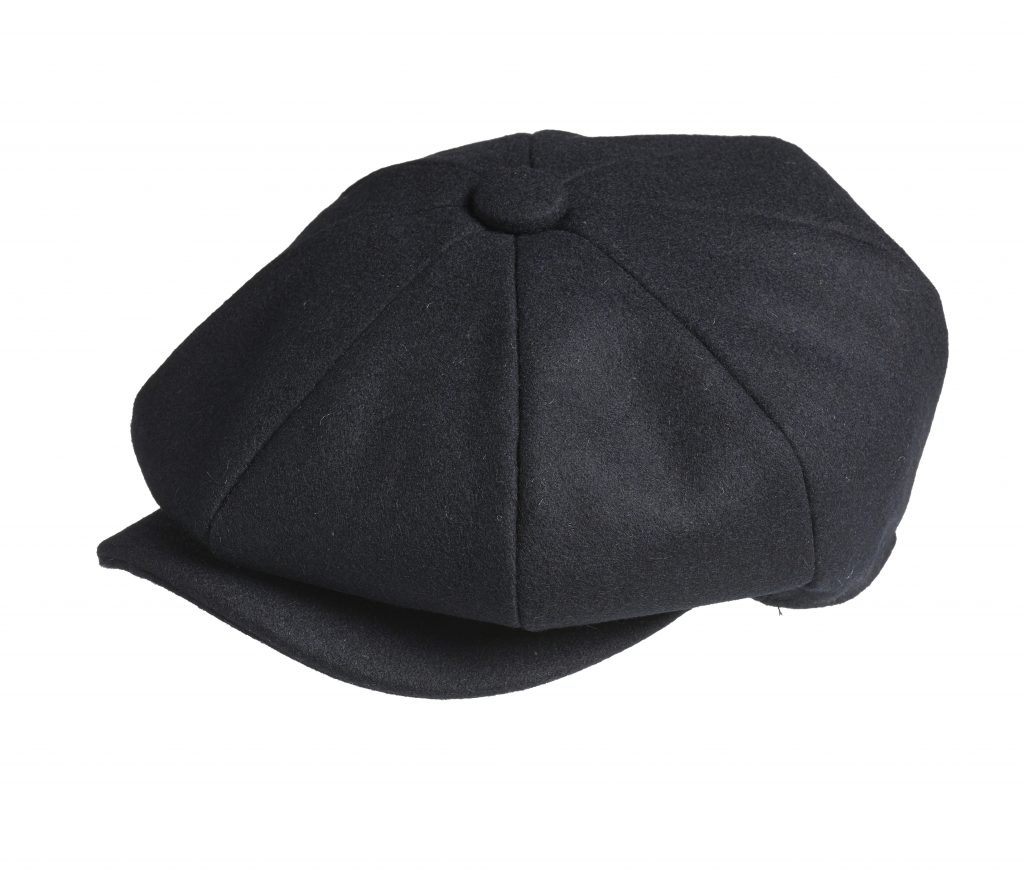 Peaky Blinders - 100% Melton Wool - Midnight Blue Newsboy Cap d9f003b09db