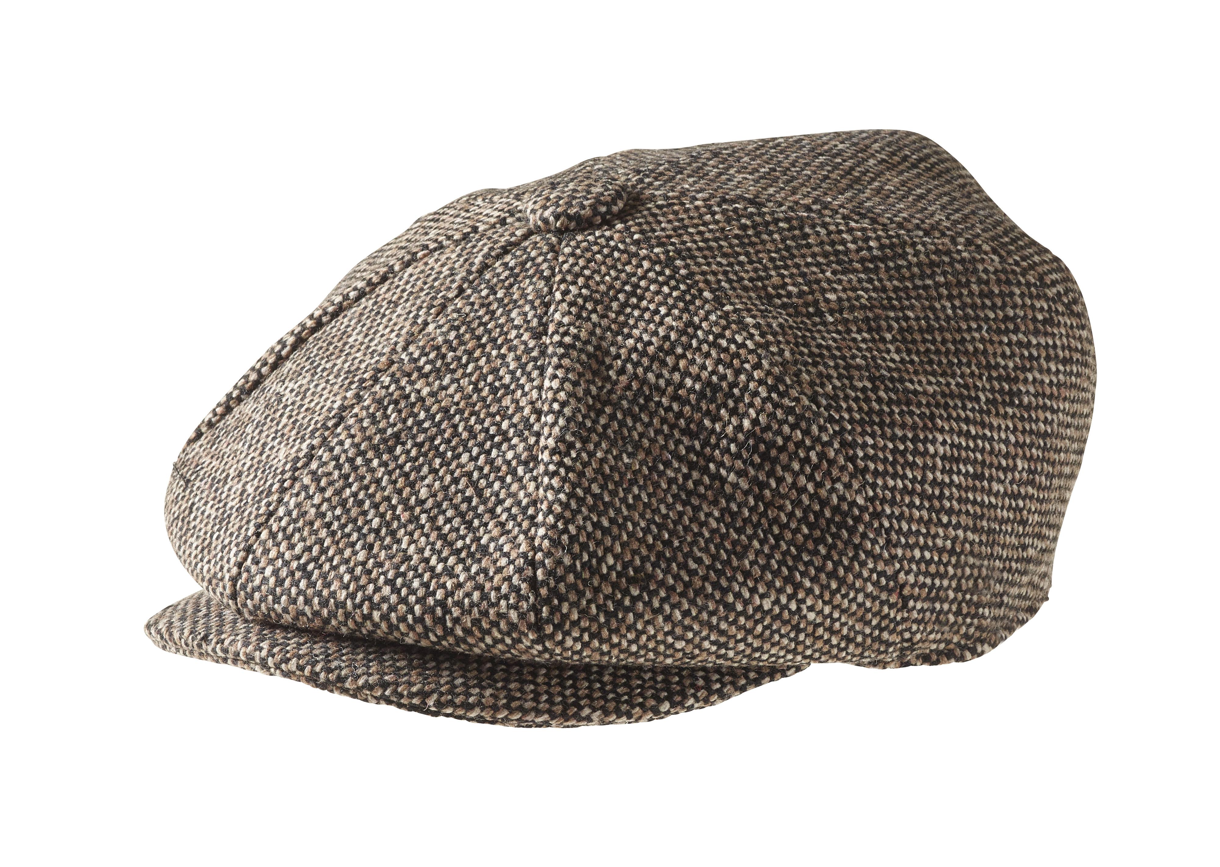 peaky blinders 100  tweed wool bird s eye brown No Hassle Hassle-Free Logo