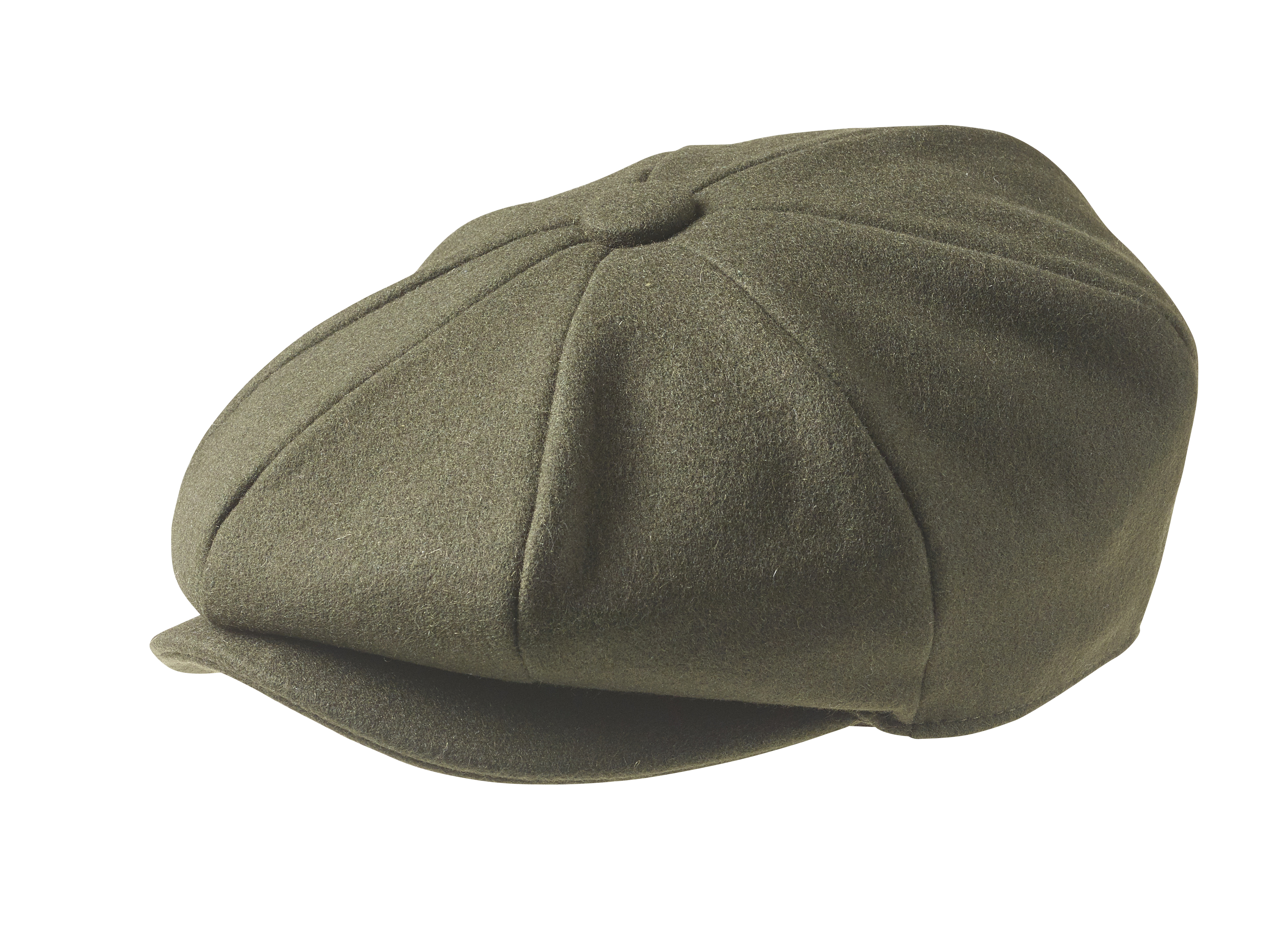 Peaky Blinders - 100% Melton Wool - Moss Green Newsboy Cap 44b1b0109f4