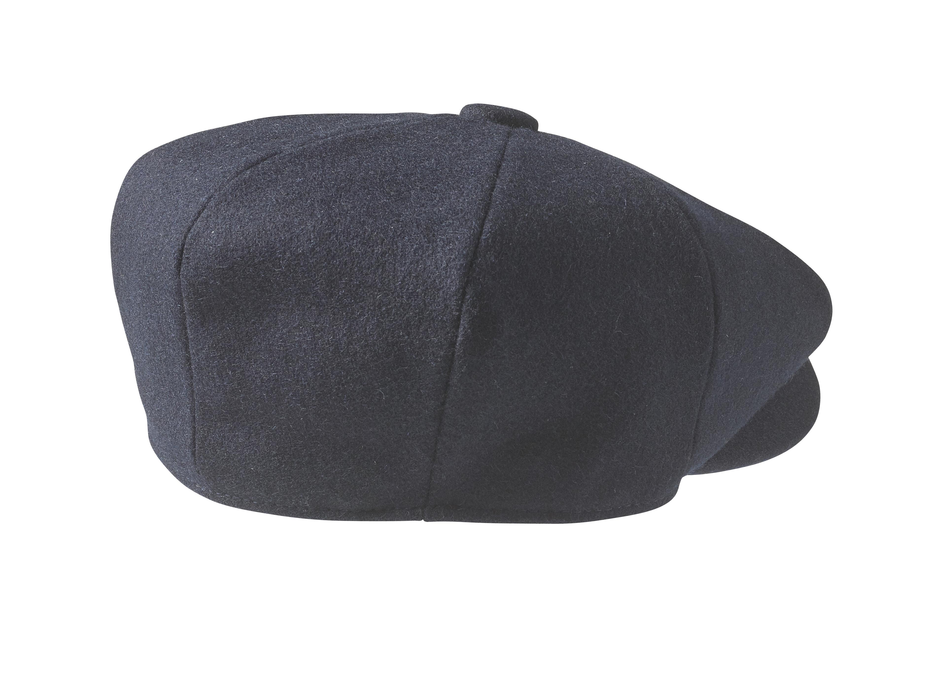 Peaky Blinders - 100% Melton Wool - Navy Blue Newsboy Cap 1c5d4d8c845