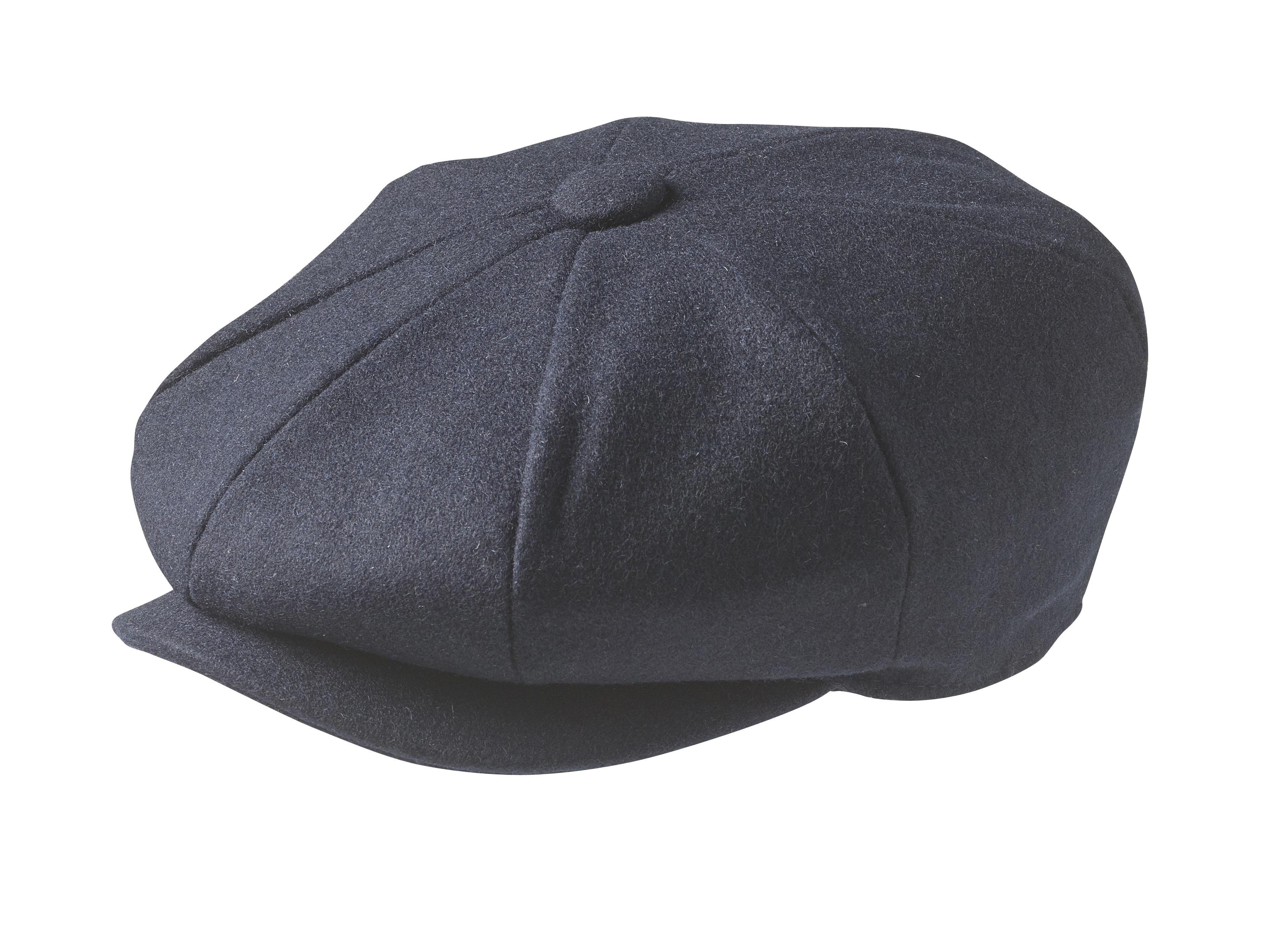 Peaky Blinders - 100% Melton Wool - Navy Blue Newsboy Cap d0a7f9bb9b
