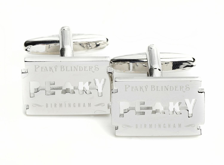 7408453d0f6 Peaky blinders peaky blinders razor cufflinks in presentation box jpg  1500x1104 Peaky blinder razor logo