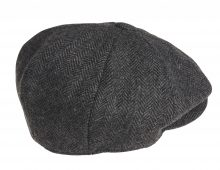 cap_herringbone_black_back