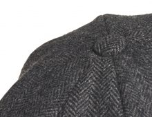cap_herringbone_black_detail