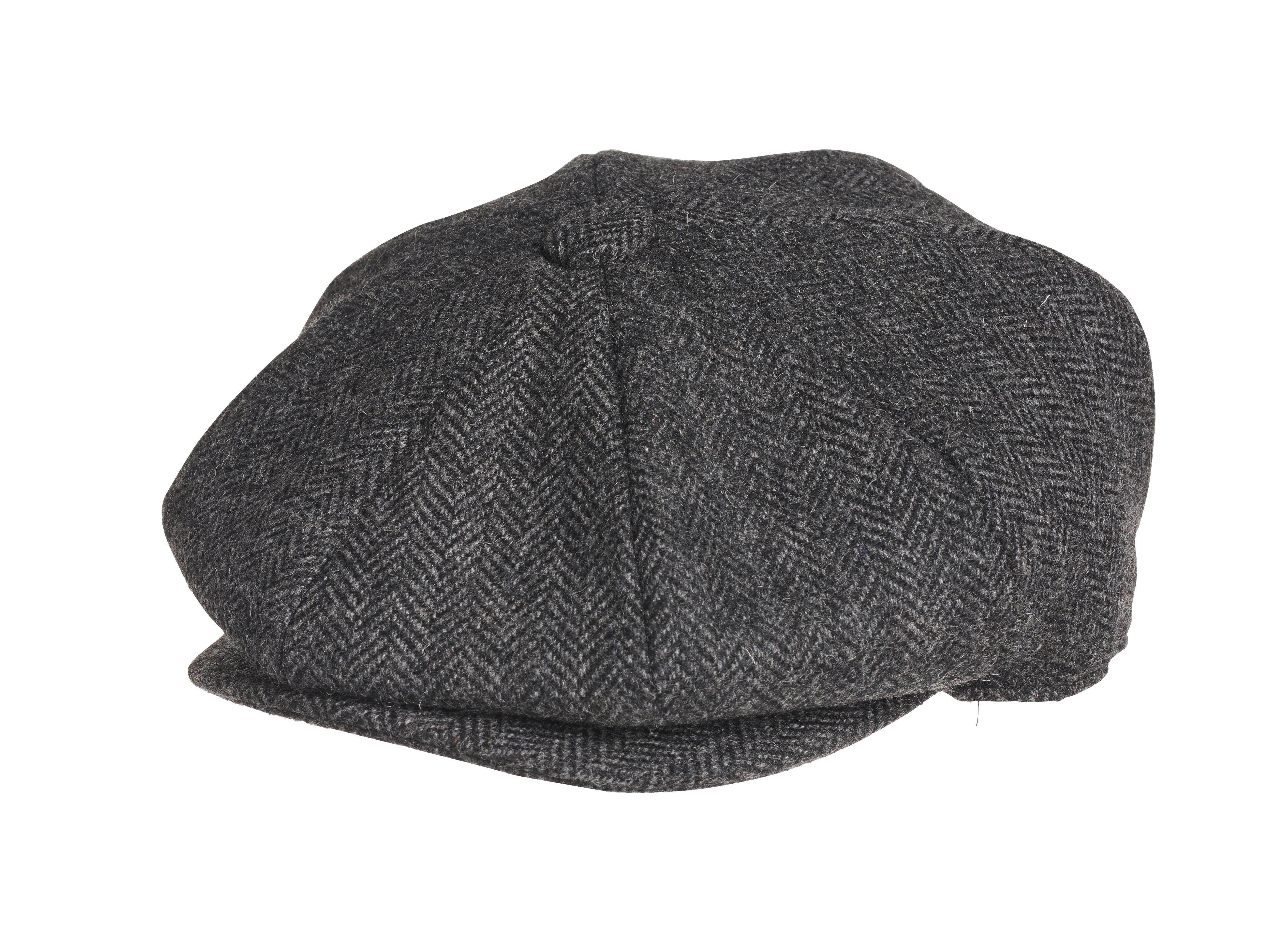 Tartan Plaid Flat Cap Royal Stewart Brushed Wool Caps