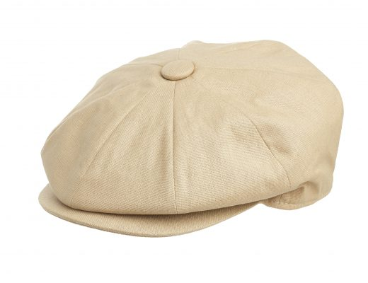 d3de1c85 ... Newsboy Caps in all sizes and styles. CottonPeaky_Khaki_Detail  CottonPeaky_Khaki_Back